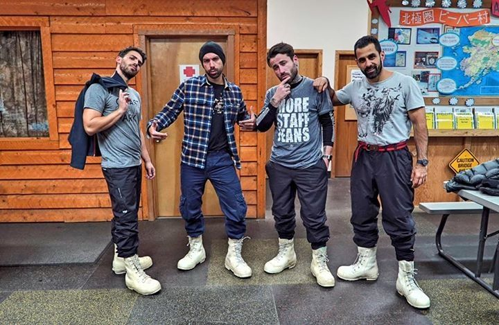 World Party TV Show in Alaska part I, Alpha TV, with Sakis Tanimanidis Georgios Mavridis. 2016, 22:00. #SakisTanimanidis #GeorgiosMavridis #YOLO