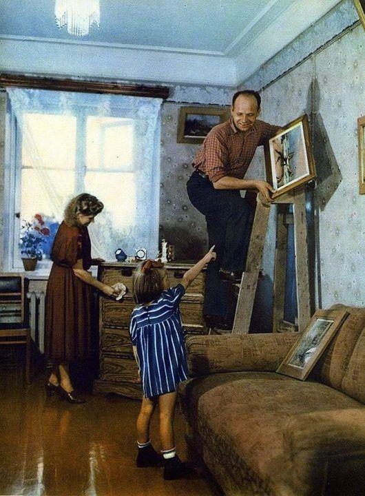 СССР 1953 года в цвете. Идея хорошей жизни