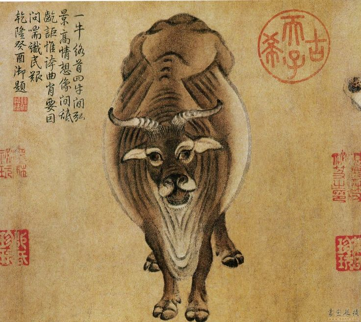 Han Huang, Tang Dynasty (With images) Chinese art