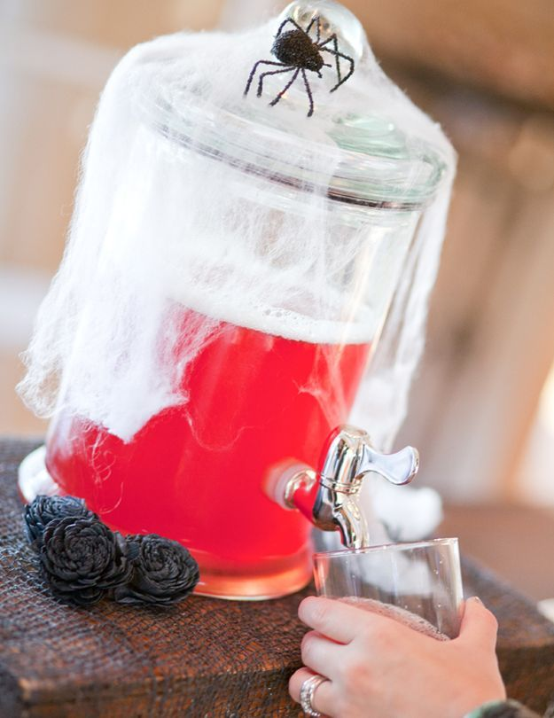 Spiked Jolly Rancher Punch | 15 Spooky Halloween Punch Recipes at http://homemaderecipes.com/course/drinks/15-halloween-punch-recipes/