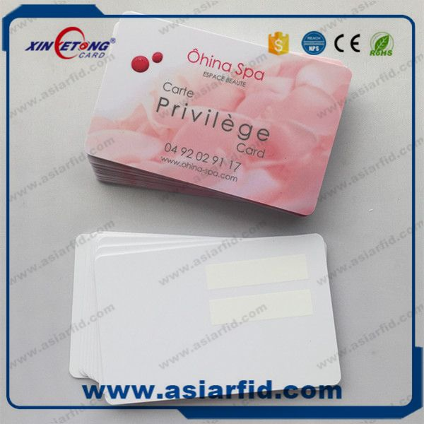 S50 Chip Smart Blank Inkjet Card id card printable on Epson printer is selling to both the domestic NFC White PVC Inkjet Card