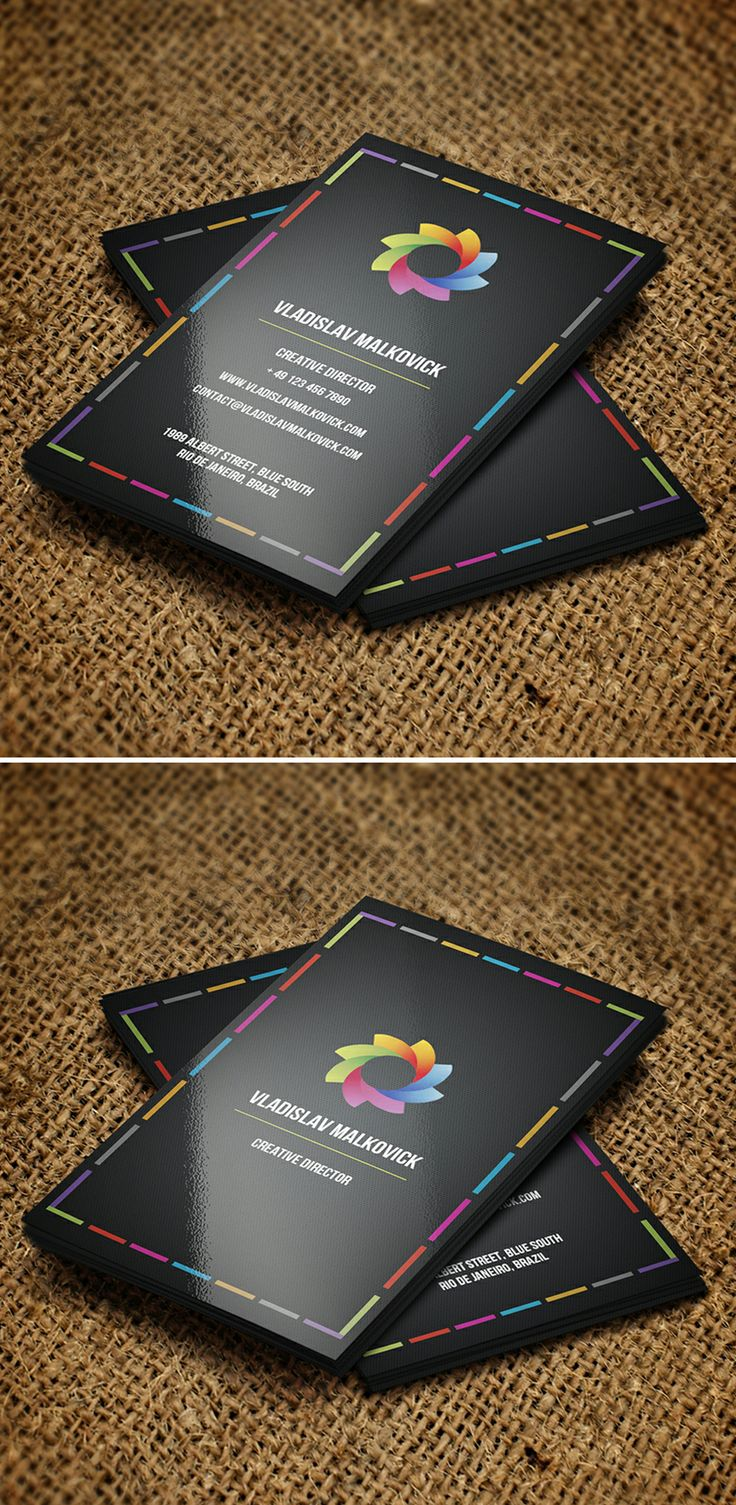 10 Best Business Cards Images On Pinterest Carte De Visite