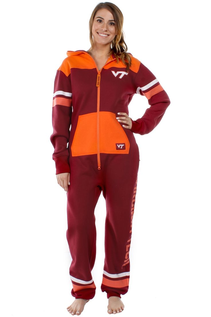 Women's Virginia Tech Jumpsuit (there's a mens style available too ha)