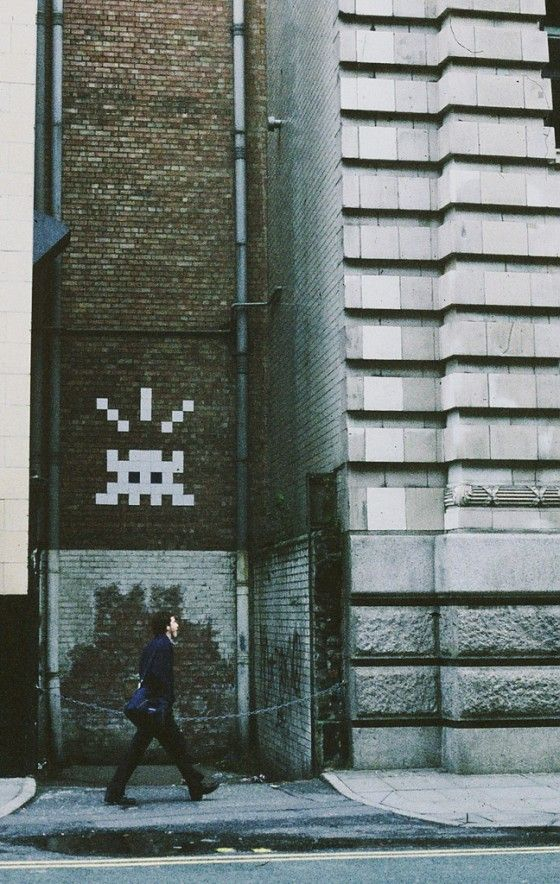 The Resident Manchester Space Invader - used to walk past this on my way to work, awesome :-)