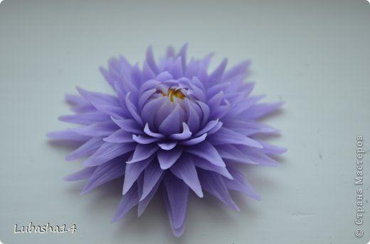 Хризантема из холодного фарфора | Страна Мастеров
