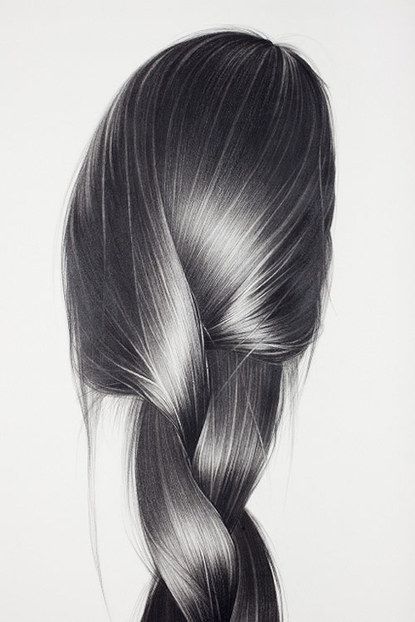 hair is the most interesting thing to draw