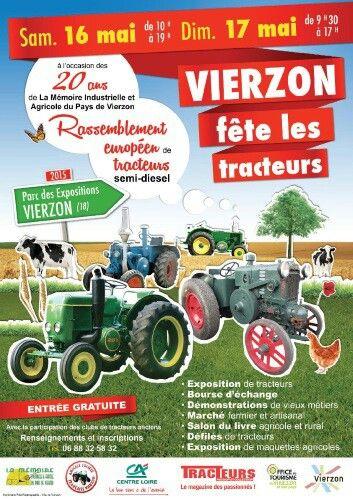 Rassemblement européen de tracteurs semi diesel