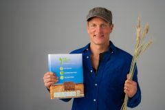 """Woody Harrelson, Sustainable Paper Salesman?: """"The laid back Hollywood actor is serious about preventing deforestation. A new kind of paper that uses wheat straw rather than wood might be one of the best way to save trees."""""""