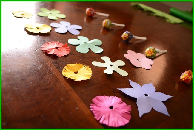Tweedot blog magazine - lavoretti per bambini con cartoncino e caramelle