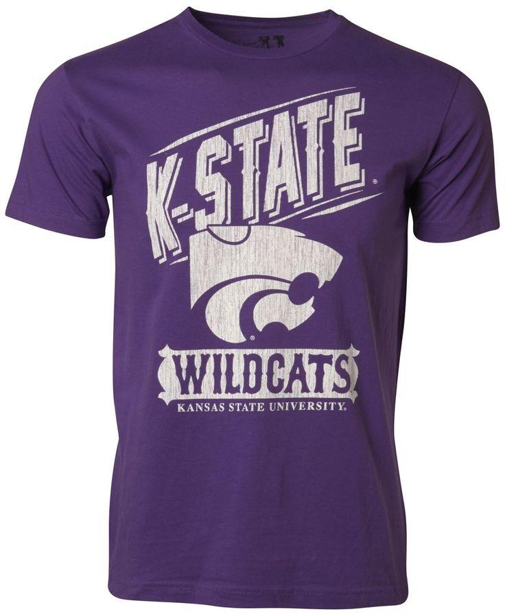 myu apparel s kansas state wildcats vintage label t