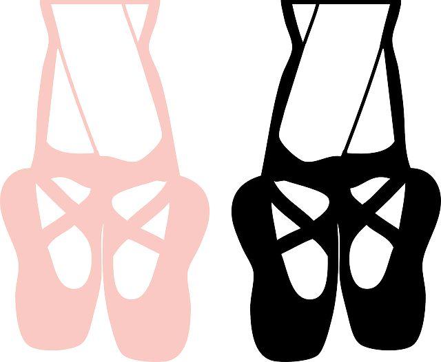 dance shoes silhouette www pixshark com images ballet shoe clipart black and white ballet shoes clip art in black
