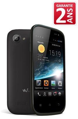 Mobile nu Wiko CINK SLIM NOIR prix promo Darty 109.00 € TTC