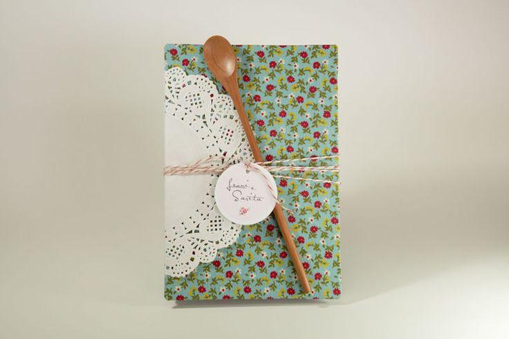 caderno de receita floral - R2R Craft