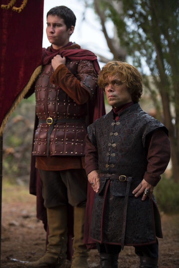 Game of Thrones - Season 4, Tyrion and Podric Payne waiting for the Dornishmen to arrive in King's Landing for Joffrey's wedding