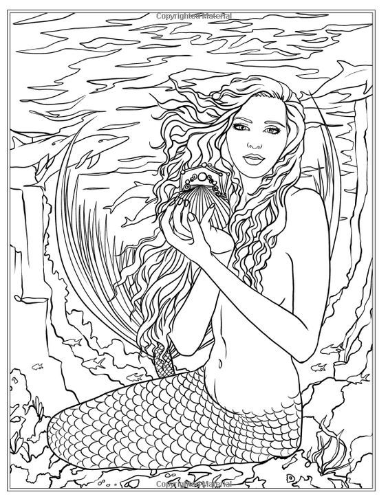 y8 coloring mermaid pages - photo#36