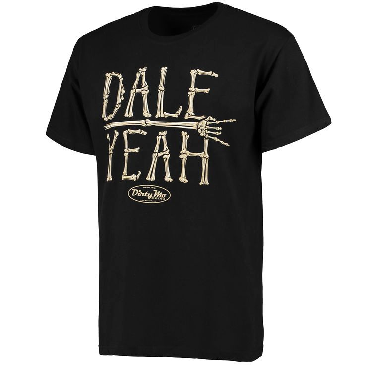 JR Motorsports Team Collection Dale Yeah T-Shirt - Black - $21.99