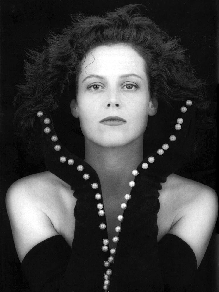 Sigourney Weaver, 1988 by Robert Mapplethorpe