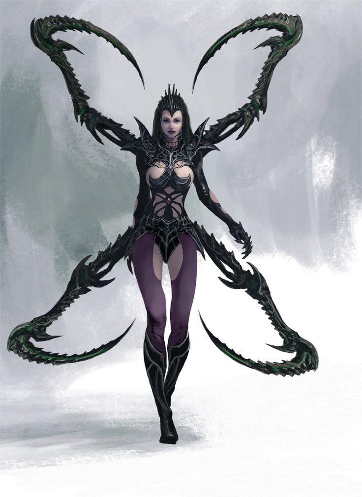 Spider Warrior by Manzanedo.deviantart.com on @DeviantArt