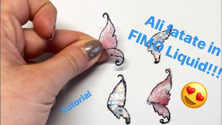 10:01   TUTORIAL #4 - Ali in Fimo Liquid / Polymer Clay Wings