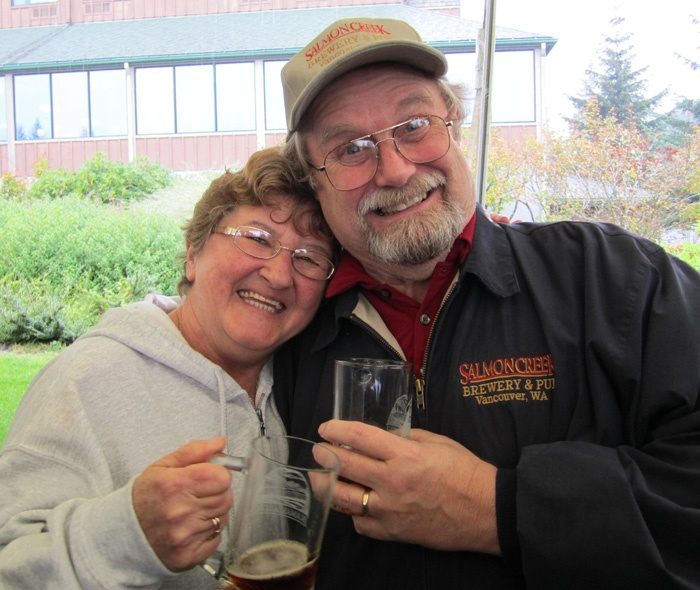 Ana and Larry Pratt - selling Salmon Creek Brewpub and retiring.Sell Salmon, Ana Pratt, Larry Pratt, Beer Accompaniments, Larry Handcrafted, Creek Brewpub, Salmon Creek, Handcrafted Beer, Change Brew