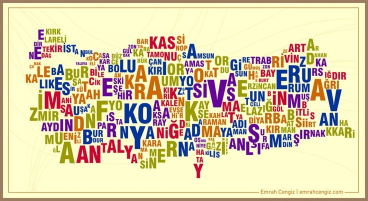 turkey map #typography  ...for the uneducated one who does not understand the truth!!