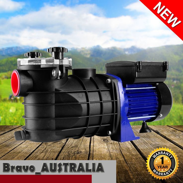 600W Swimming Pool Spa Pump Filter Salt Water Chlorine In ground & above 3/4hp