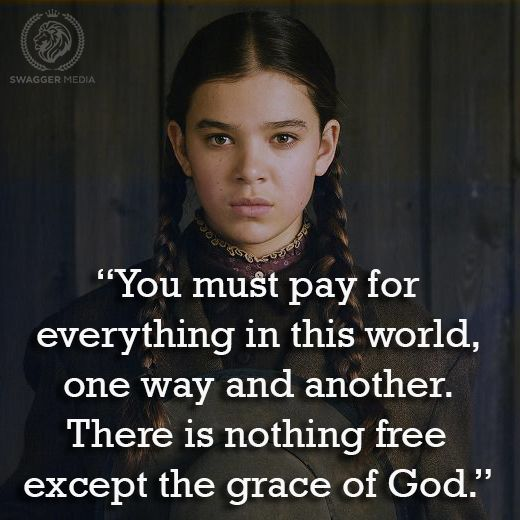 True Grit, 2010. #movie #quotes #film