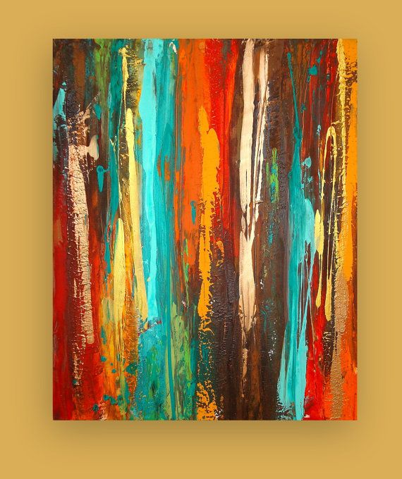 Art Painting Acrylic Abstract Original Titled por OraBirenbaumArt