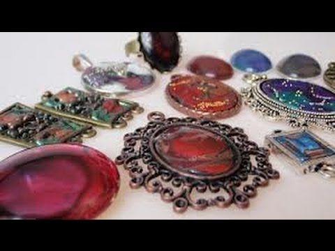 """Lakierowa biżuteria czyli """"zrób to sam"""" ;) - YouTube"""