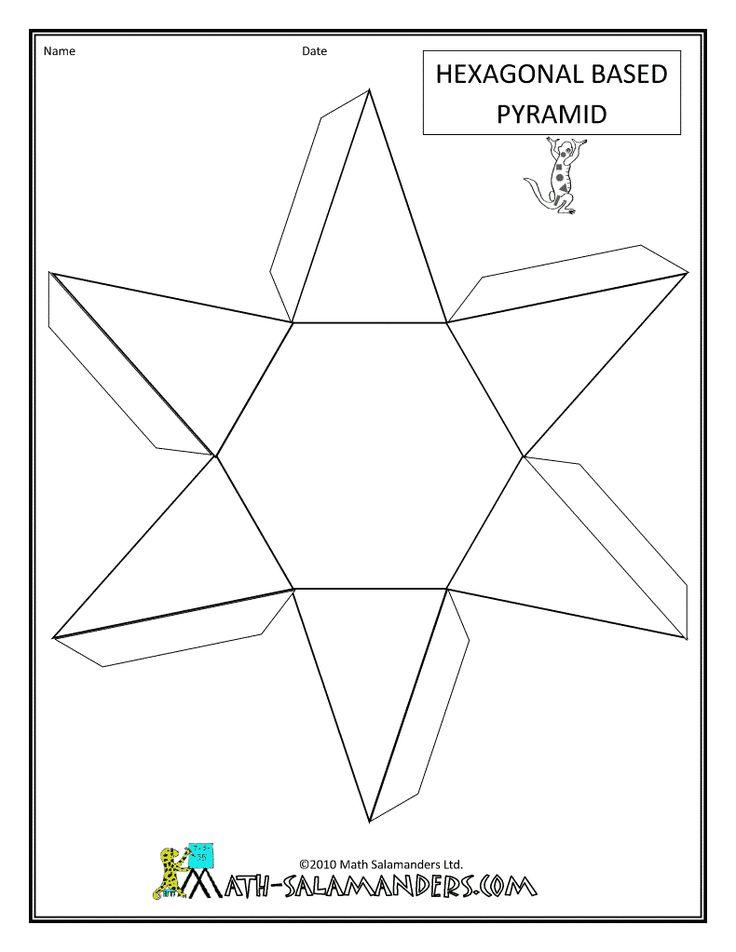 10 best Math images on Pinterest | 3d geometric shapes, Carton box ...