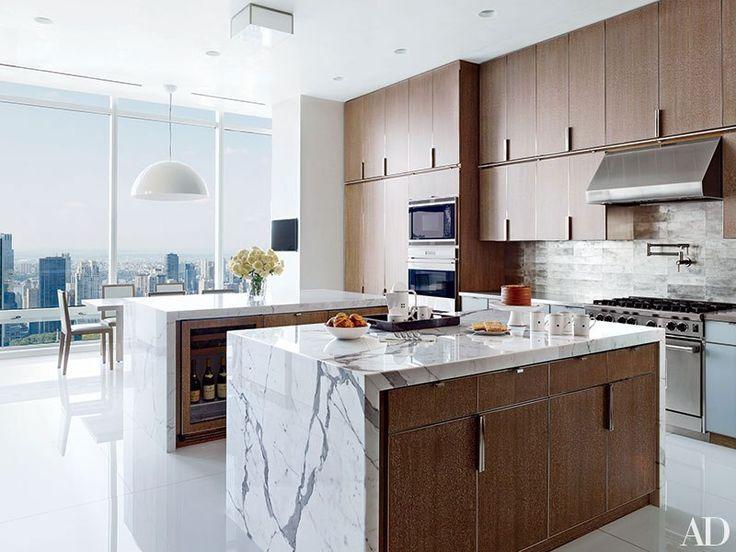 35 sleek and inspiring contemporary kitchens - Manhattan Kitchen Design