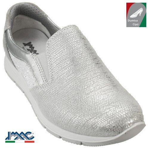 Imac női bőr cipő 72232 74670/018 ezüst/szürke