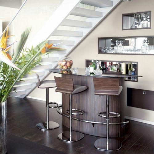 Best Bar Under Stairs Images On Pinterest Basement Ideas