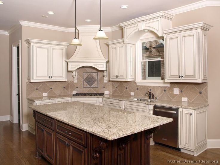 Pictures Of Kitchens   Traditional   Two Tone Kitchen Cabinets (Kitchen #20) Part 69