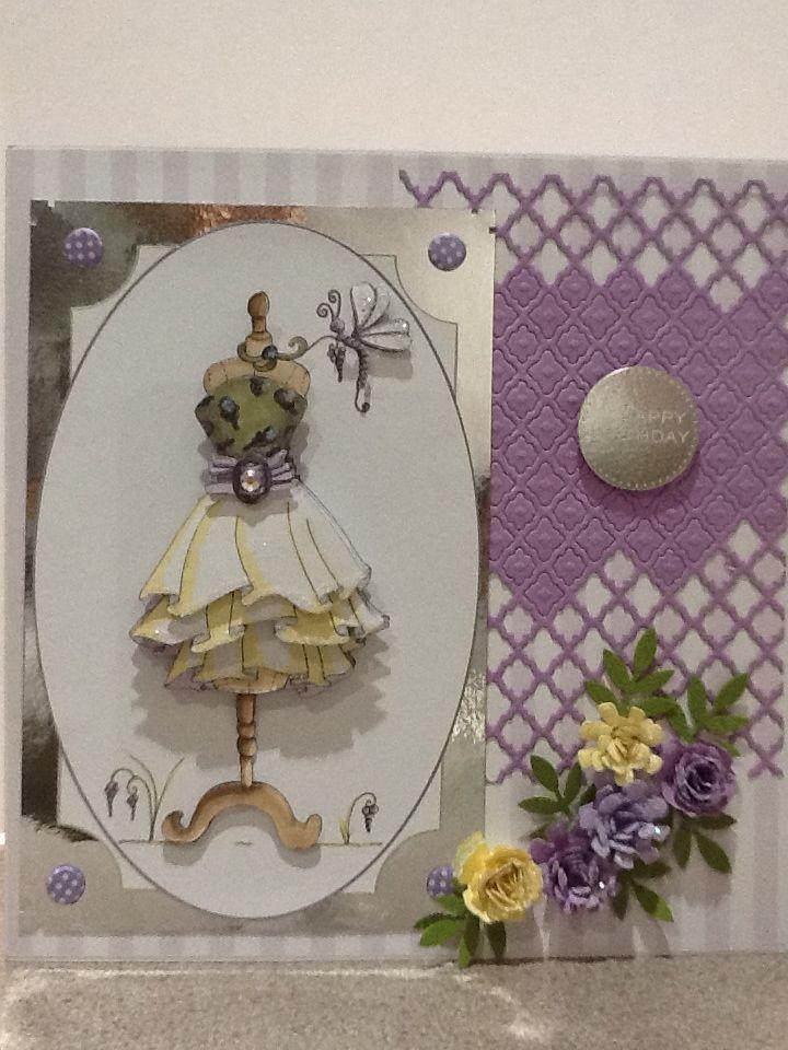 Absolutely fabulous! Fabulous fashion spellbinders flowers spellbinders lattice