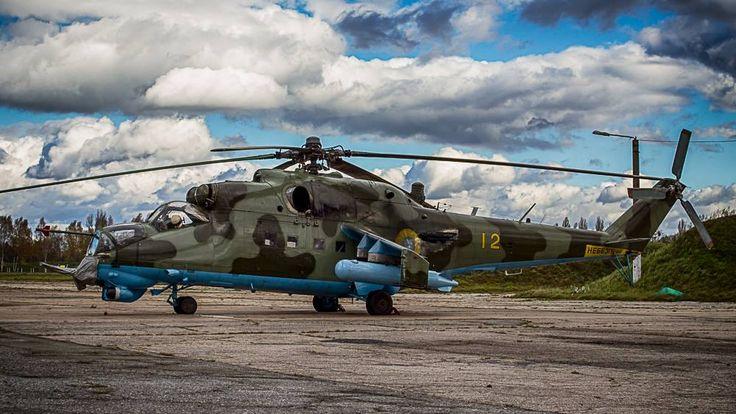 Mi-24ВП 16 обрАА, Васильків 2012, фото © Anton Starishko