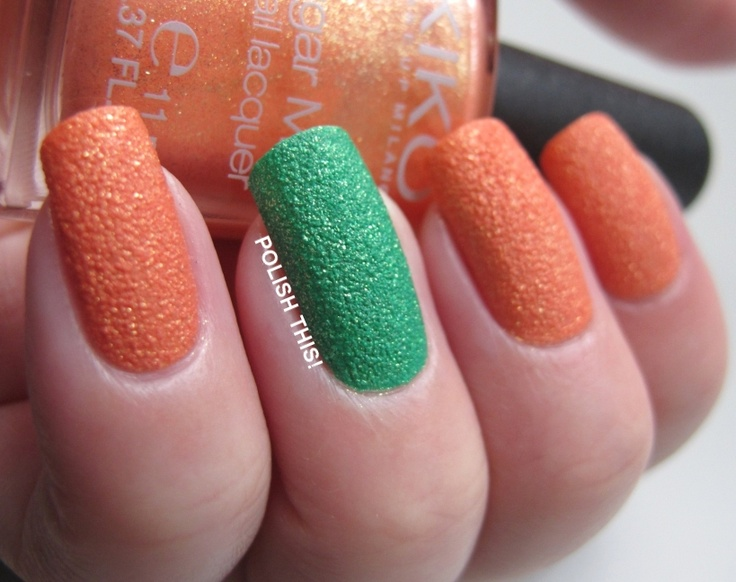 Kiko Sugar Mat Golden Mandarin & Spring Green