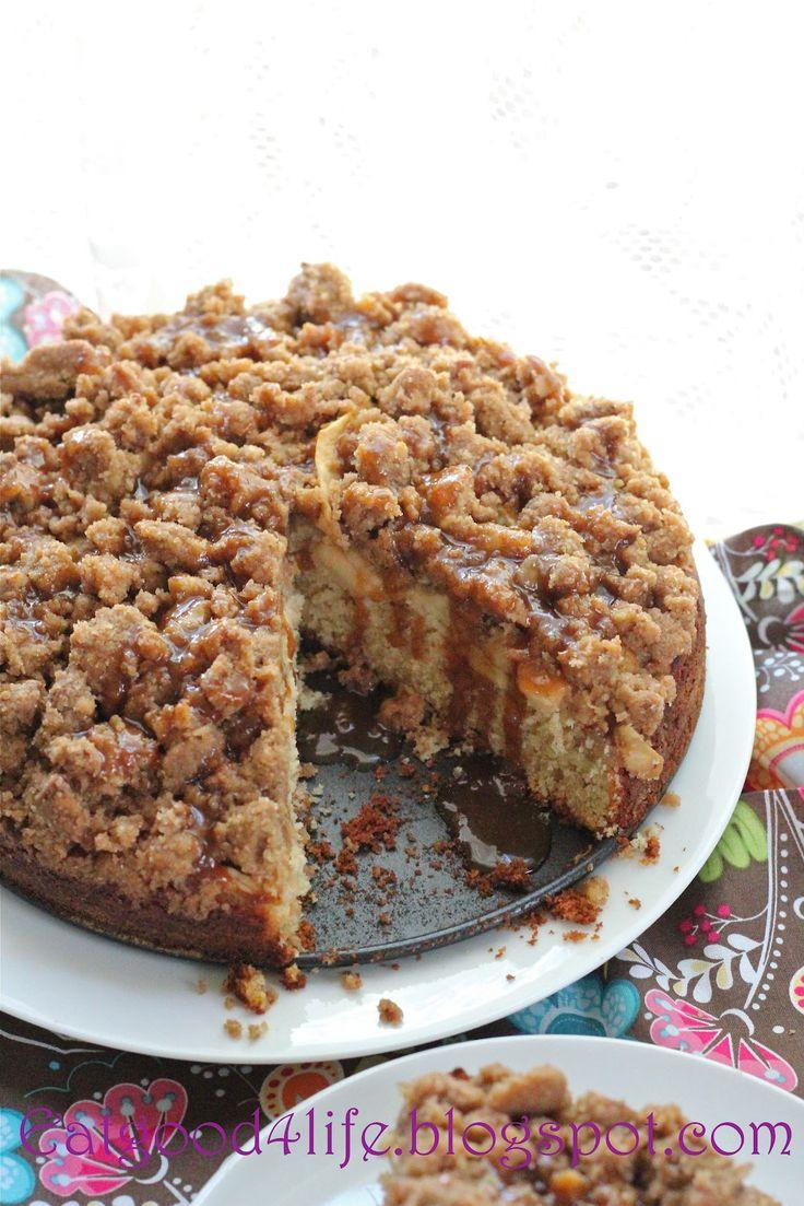 Recipe; Caramel Apple coffee cake