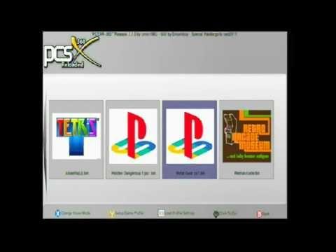 Metal Gear PCSXR emulador xbox360  P1