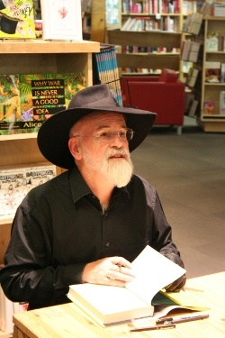 My first introduction to Terry Pratchett was on holiday in a caravan park when I was about nine years old. I had finished all of my reading material...