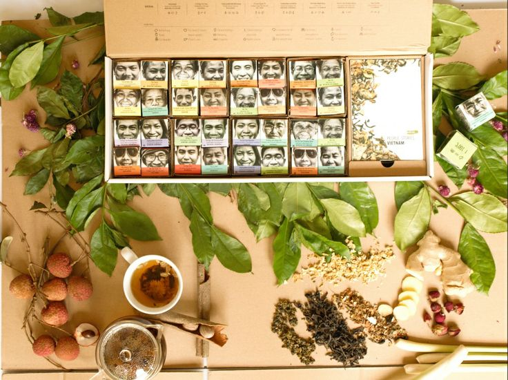 Fabulous #tea #collection of 32 #teas directly from Vietnamese farmers. This…