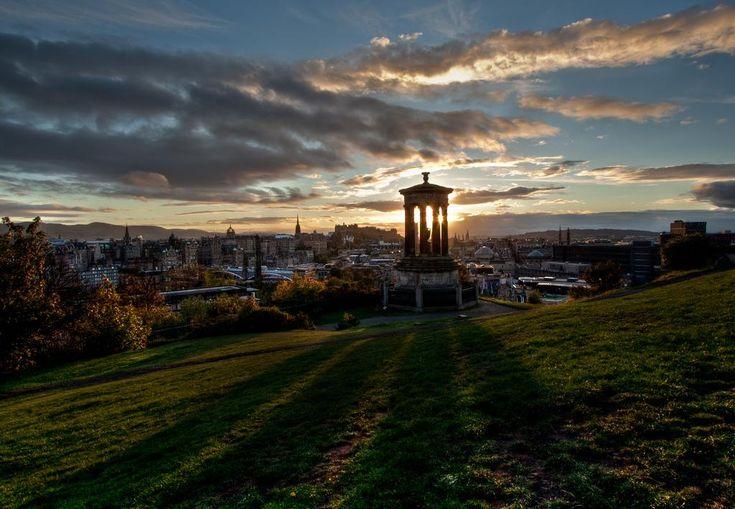 Edinburg: Blick auf Edinburg vom Calton Hill