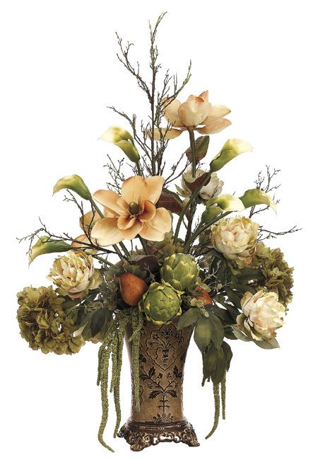 Ana Silk Flowers: Silk flower arrangement styles and different shapes !!!