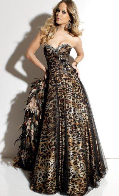 Animal Print Prom Dresses 2012 Paparazzi Prom Dress 91031