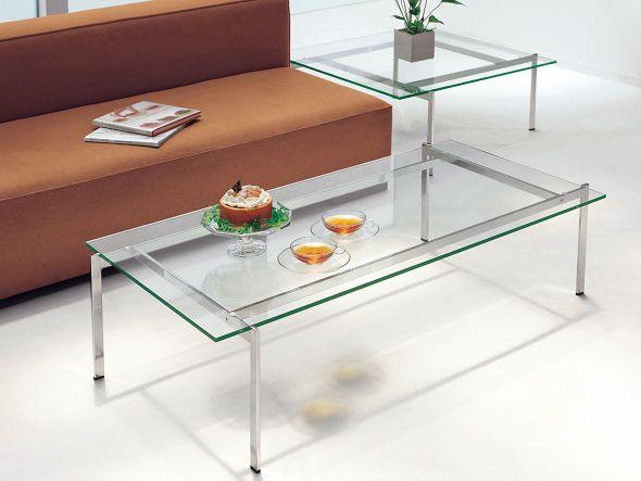 FLYMEe Noir GLASS LIVING TABLE W85 / フライミーノワール ガラス ... ソファサイドテーブルとしてご使用いただけるサイズです。