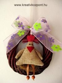 Húsvéti pályázat - Pipis ajtódísz