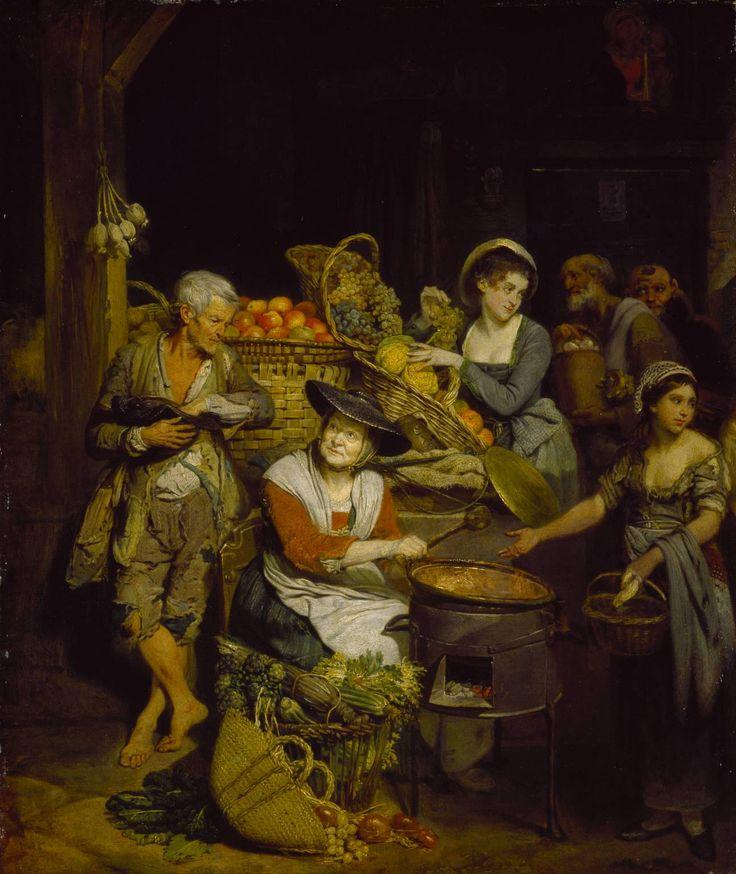 Artist  Johan Zoffany (1733‑1810)  Title  A Florentine Fruit Stall  Date c.1777 Tate T00054
