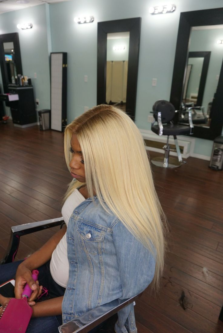 13x6 Blonde Lace Frontal With Light Brown Roots The