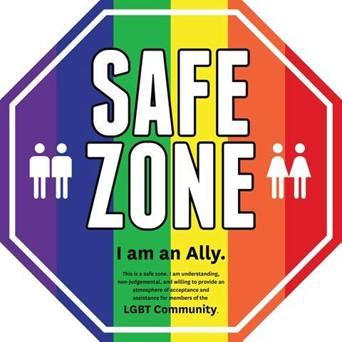 I support safe zones because safe spaces are places or communities – either online or off – where bigotry and oppressive views are not tolerated. Not an echo chamber!