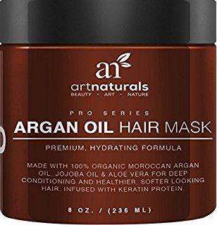Organic argan oil mask